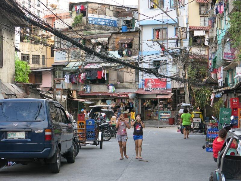 Kazdý má svoj kabel na Filipínach