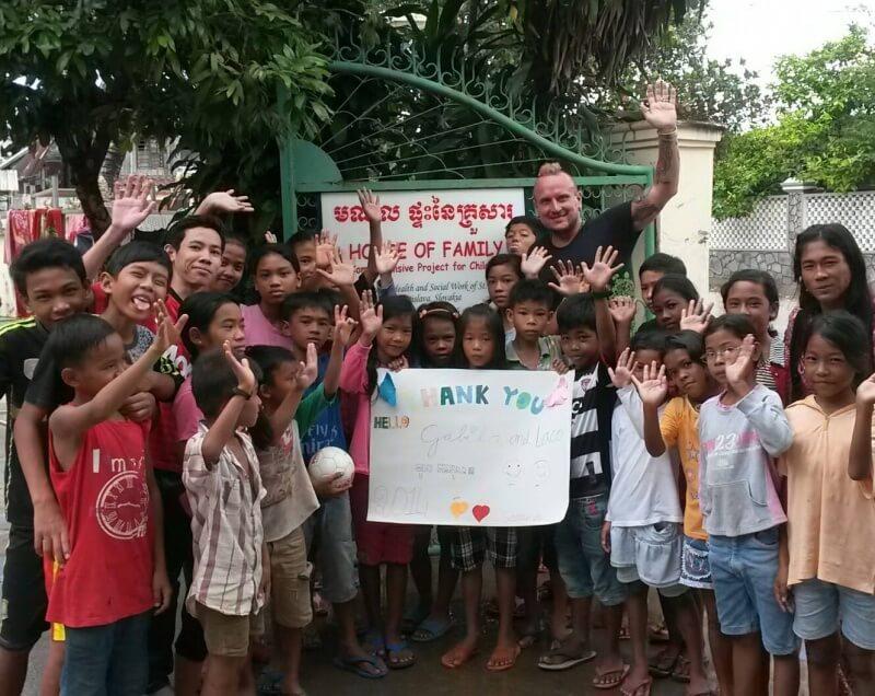 deti v House of Family v Kambodži - o dobrovoľníctve s Lacom ďurkovičom