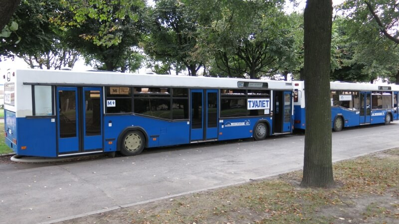 Sratie v buse