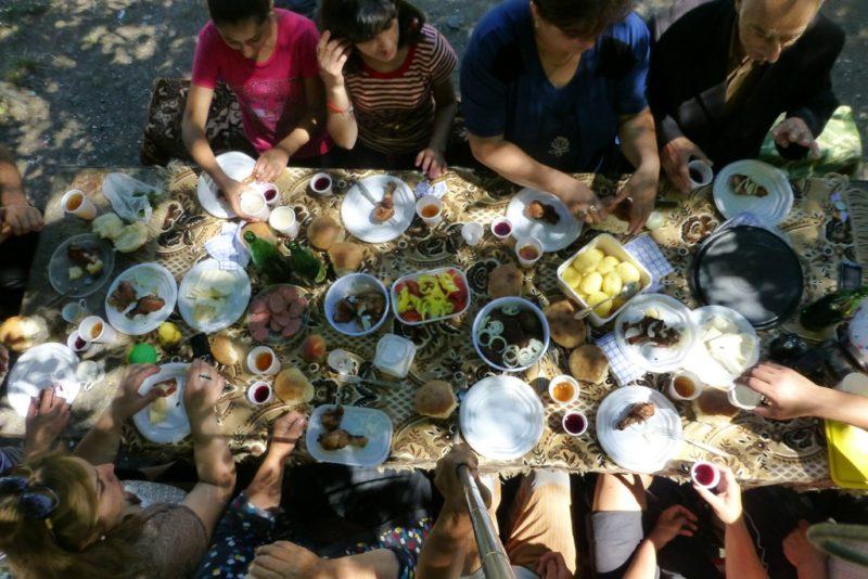 Piknik v Arménsku