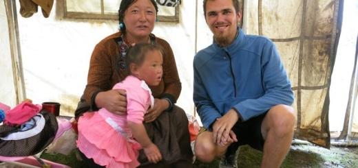 V Tibete na návšteve v stane