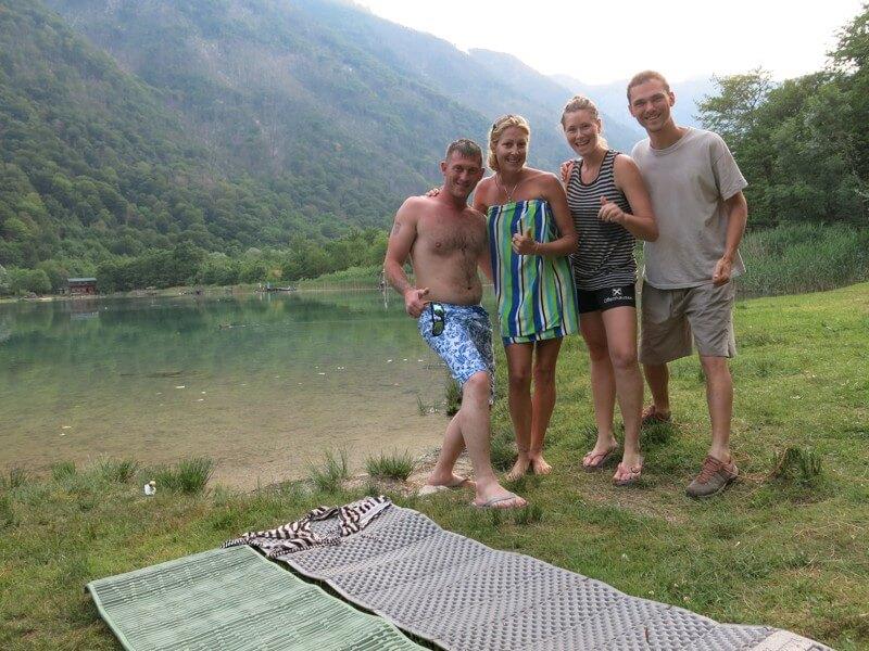 Pri jazere Boračko
