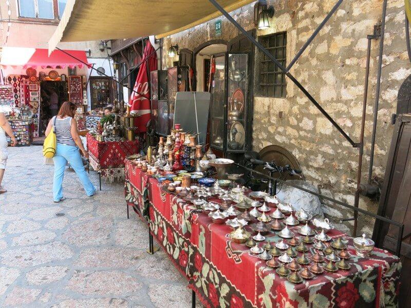 bazár v Sarajeve