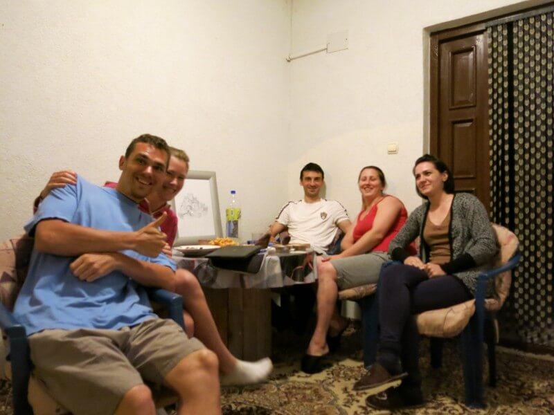 Naši noví kamoši v Srebreniku