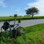 Na bicykli 300 km/deň