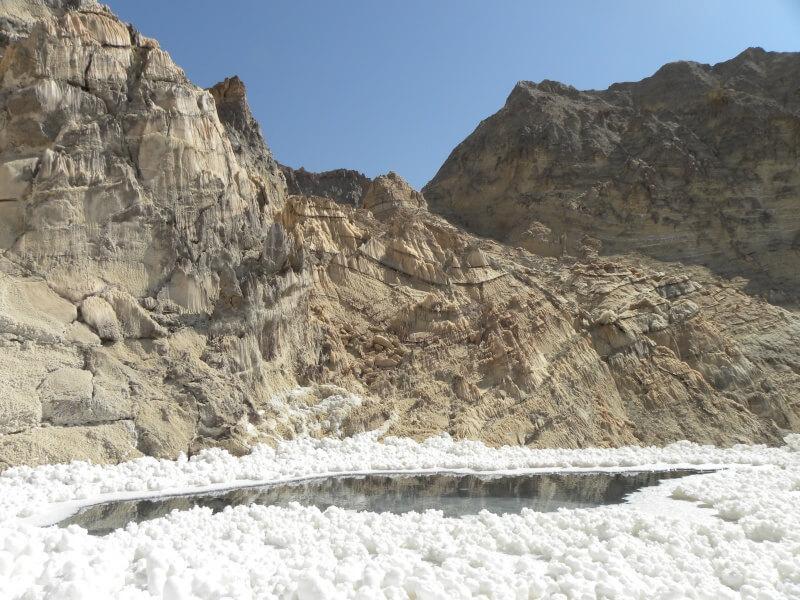 Jashak - soľné hory v Iráne