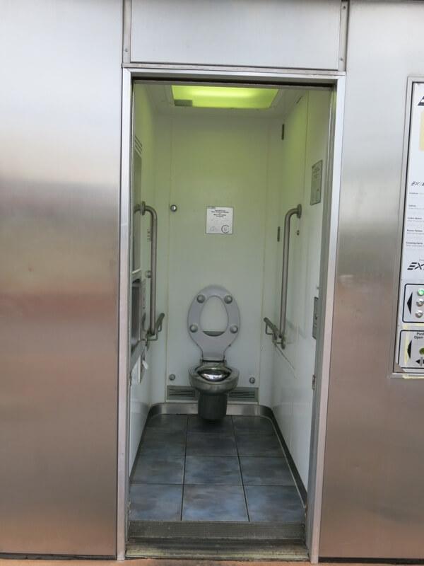 Spievajúce verejné záchody v Austrálií