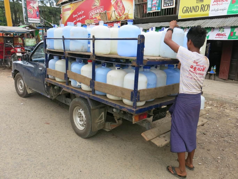 Pitná voda v Mjanmarsku